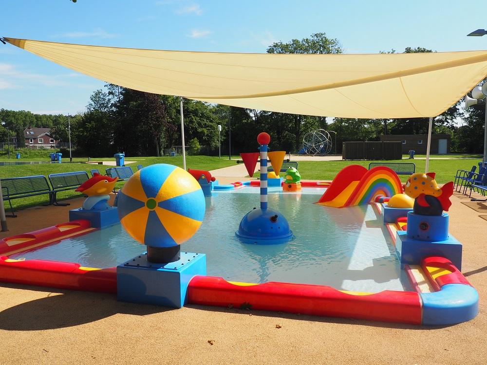 Freibad Kamp-Lintfort Kinderspielbecken