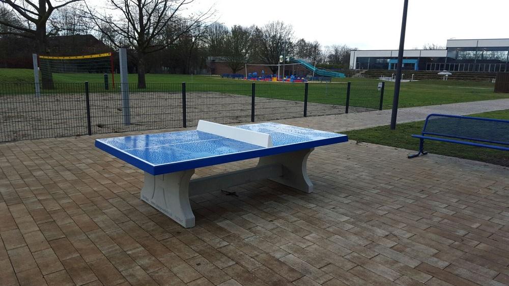 Freibad Kamp-Lintfort Tischtennis