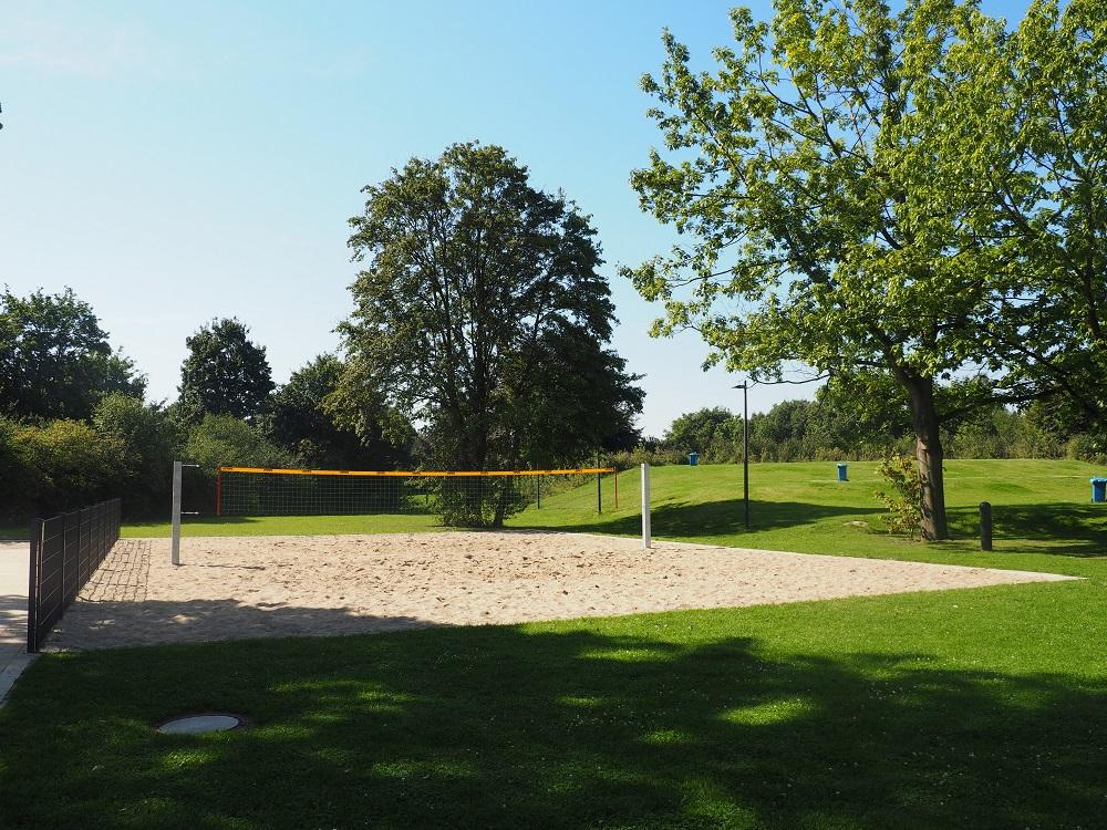 Freibad Kamp-Lintfort Beachvolleyball